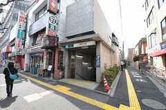 東京メトロ丸ノ内線・南阿佐ヶ谷駅の様子。(2012-04-10,共用部,ENVIRONMENT,1F)