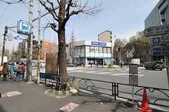 東京メトロ丸ノ内線・南阿佐ヶ谷駅前の様子。(2012-04-10,共用部,ENVIRONMENT,1F)