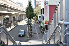 京王線・代田橋駅周辺の様子。(2017-09-13,共用部,ENVIRONMENT,2F)