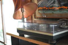 レコードも聴けます。(2014-05-16,共用部,OTHER,1F)