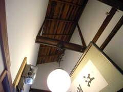 廊下の天井。(2007-09-04,共用部,OTHER,2F)