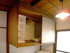 収納の様子。(201号室)(2007-09-04,専有部,ROOM,2F)