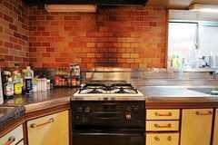 シェアハウスのキッチンの様子2。(2011-01-26,共用部,KITCHEN,1F)
