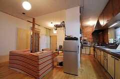 冷蔵庫の様子。(2011-01-26,共用部,KITCHEN,1F)