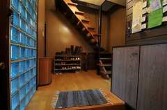 正面玄関から見た内部の様子。(2011-01-26,周辺環境,ENTRANCE,1F)