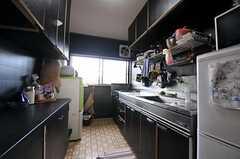 シェアハウスのキッチンの様子。(2011-01-26,共用部,KITCHEN,2F)