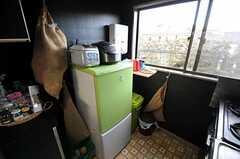冷蔵庫の様子。(2011-01-26,共用部,KITCHEN,2F)