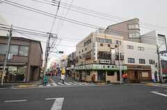 京王井の頭線・永福町駅前の様子。(2011-01-26,共用部,ENVIRONMENT,1F)
