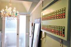 掃除当番などを管理できるスイッチだそう。(2010-03-01,共用部,OTHER,1F)