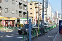 東京メトロ丸ノ内線・中野富士見町駅周辺の様子。(2018-11-27,共用部,GARAGE,1F)