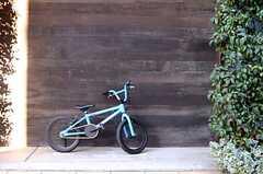 壁は良い感じの色合いです。(2013-12-13,共用部,OTHER,1F)