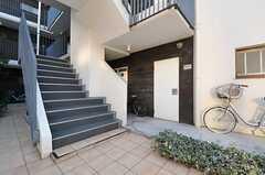 階段の様子。(2013-12-13,共用部,OTHER,1F)