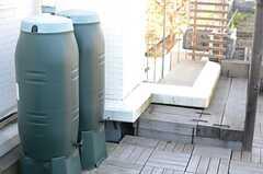 ハーコスターの雨水タンク。(2013-12-13,共用部,OTHER,3F)