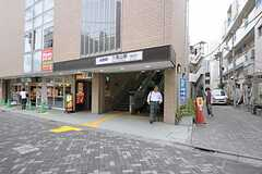 京王井の頭線・久我山駅の様子。(2011-07-28,共用部,ENVIRONMENT,1F)