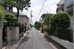 シェアハウス周辺は緑も多く、落ち着いた住宅地です。(2012-06-04,共用部,ENVIRONMENT,1F)
