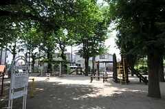 シェアハウス周辺の公園。(2012-06-04,共用部,ENVIRONMENT,1F)
