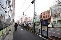 京王井の頭線・永福町駅前2。(2016-02-25,共用部,ENVIRONMENT,1F)