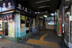 東京メトロ丸ノ内線・方南町駅の様子。(2013-02-04,共用部,ENVIRONMENT,1F)