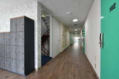 廊下の様子。(2017-08-07,共用部,OTHER,1F)
