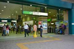 各線・阿佐ヶ谷駅の様子。(2015-08-11,共用部,ENVIRONMENT,1F)