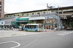 各線・阿佐ヶ谷駅の様子2。(2015-08-11,共用部,ENVIRONMENT,1F)