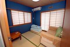 専有部の様子。和室。(104号室)(2008-07-23,専有部,ROOM,1F)