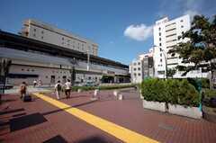 JR中央線高円寺駅の様子。(2008-07-23,共用部,ENVIRONMENT,1F)
