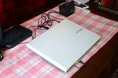 共用のPCも用意されています。(A棟)(2013-10-07,共用部,PC,1F)