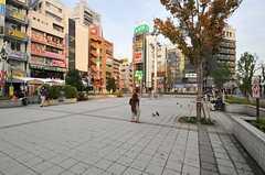 各線・高円寺駅前の様子。(2013-10-07,共用部,ENVIRONMENT,1F)