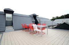 屋上の様子。(2013-07-05,共用部,OTHER,3F)