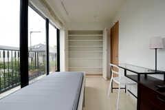 収納の様子。(205号室)(2013-07-05,専有部,ROOM,2F)