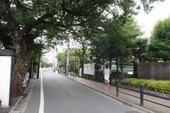 京王井の頭線・浜田山駅からシェアハウスへ向かう道の様子。(2013-07-05,共用部,ENVIRONMENT,1F)