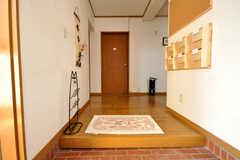 正面玄関から見た内部の様子。(2010-03-29,周辺環境,ENTRANCE,1F)