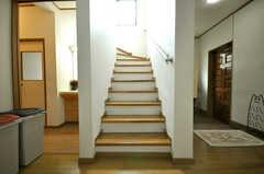 階段の様子。(2010-03-29,共用部,OTHER,1F)