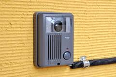 カメラ付きインターホンの様子。(2010-03-29,共用部,OTHER,1F)