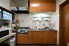 キッチンの様子。(2020-08-21,共用部,KITCHEN,1F)