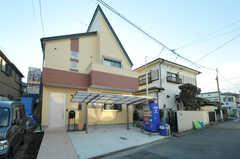 シェアハウスの外観。新築の物件です。(2012-12-24,共用部,OUTLOOK,1F)