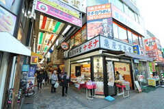 JR中央線・西荻窪駅の商店街の様子。(2012-12-24,共用部,ENVIRONMENT,1F)