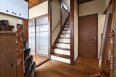 階段の様子。(2016-06-20,共用部,OTHER,1F)