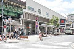 各線・西荻窪駅の様子。(2018-04-19,共用部,ENVIRONMENT,1F)