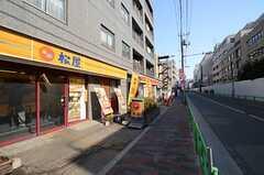 東京メトロ丸ノ内線・中野富士見町駅前の様子。(2016-03-22,共用部,ENVIRONMENT,1F)