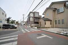 周辺は比較的静かな住宅街です。(2014-02-20,共用部,ENVIRONMENT,1F)
