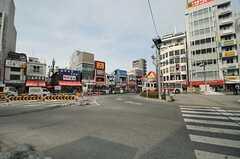 各線・高円寺駅前の様子。(2014-02-20,共用部,ENVIRONMENT,1F)