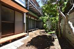 庭の様子。(2016-05-12,共用部,OTHER,1F)
