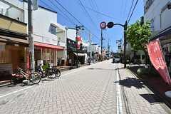 浜田山駅前から続く商店街。(2016-05-12,共用部,ENVIRONMENT,1F)