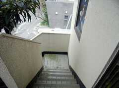 外階段の様子。(2007-12-19,共用部,OTHER,2F)