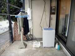 洗濯機と洗濯スペース(2007-12-19,共用部,OTHER,1F)