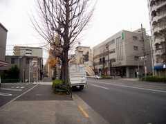 各線荻窪駅からシェアハウスへ向かう道の様子。(2007-12-19,共用部,ENVIRONMENT,1F)
