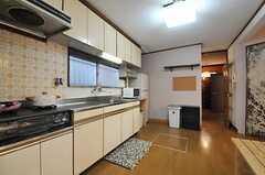 キッチンの様子。(2012-05-21,共用部,KITCHEN,1F)