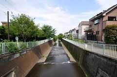 神田川が近くに流れています。(2012-05-21,共用部,ENVIRONMENT,1F)